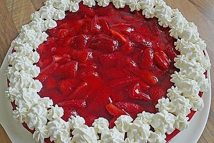 Erdbeer-Kuchen mit Vanillecreme 13
