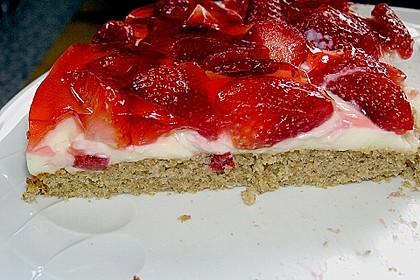 Erdbeer-Kuchen mit Vanillecreme 107