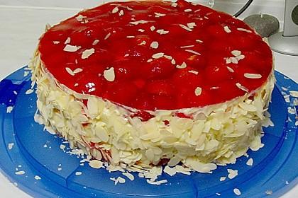Erdbeer-Kuchen mit Vanillecreme 29