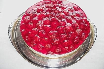 Erdbeer-Kuchen mit Vanillecreme 54