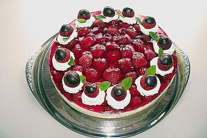 Erdbeer-Kuchen mit Vanillecreme 1
