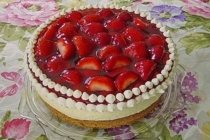 Erdbeer-Kuchen mit Vanillecreme 2