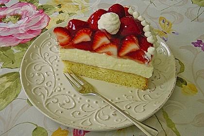 Erdbeer-Kuchen mit Vanillecreme 7