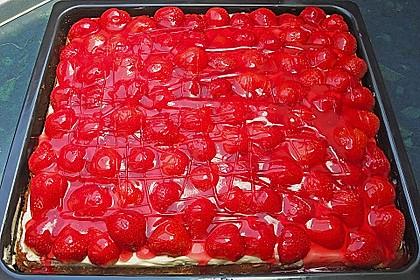 Erdbeer-Kuchen mit Vanillecreme 49