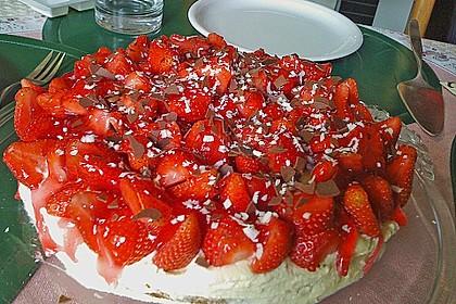 Erdbeer-Kuchen mit Vanillecreme 56