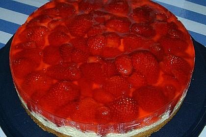 Erdbeer-Kuchen mit Vanillecreme 22