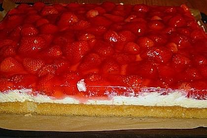 Erdbeer-Kuchen mit Vanillecreme 73