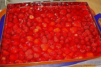 Erdbeer-Kuchen mit Vanillecreme 61