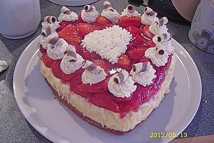 Erdbeer-Kuchen mit Vanillecreme 28
