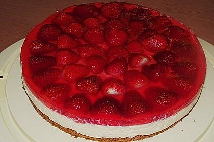 Erdbeer-Kuchen mit Vanillecreme 55