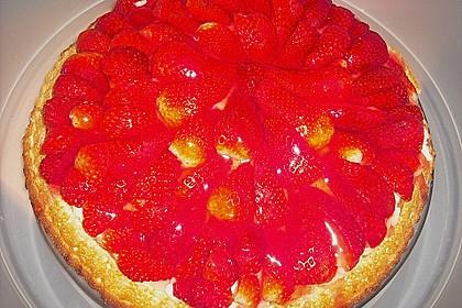 Erdbeer-Kuchen mit Vanillecreme 76
