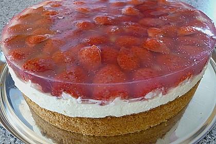 Erdbeer-Kuchen mit Vanillecreme 59