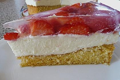 Erdbeer-Kuchen mit Vanillecreme 74