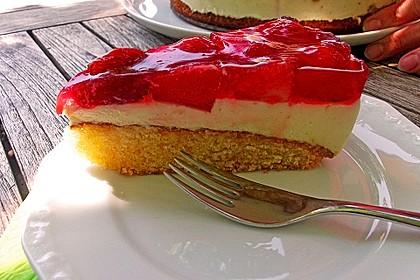 Erdbeer-Kuchen mit Vanillecreme 64