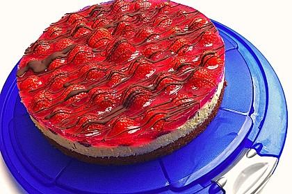 Erdbeer-Kuchen mit Vanillecreme 4