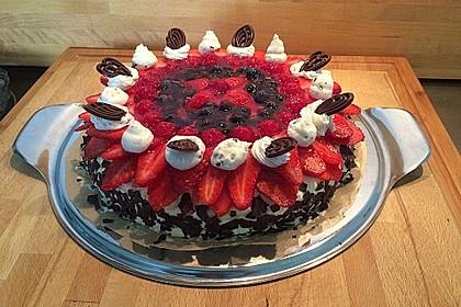 Erdbeer-Kuchen mit Vanillecreme 30