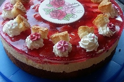 Erdbeer-Kuchen mit Vanillecreme 48