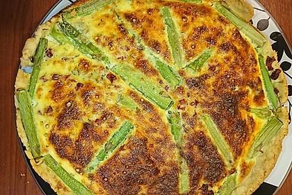Spargelquiche mit Parmesan 24
