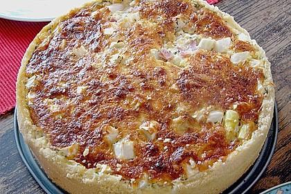 Spargelquiche mit Parmesan 7