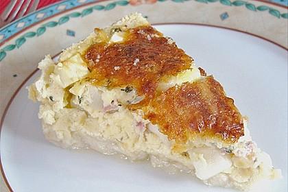 Spargelquiche mit Parmesan 6