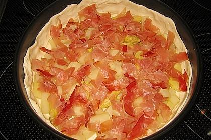 Spargelquiche mit Parmesan 10