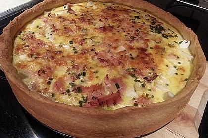 Spargelquiche mit Parmesan 11