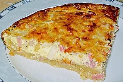 Spargelquiche mit Parmesan 5