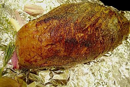Rinderfilet auf Rotwein - Schalotten - Butter 9