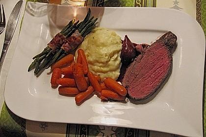 Rinderfilet auf Rotwein - Schalotten - Butter 1