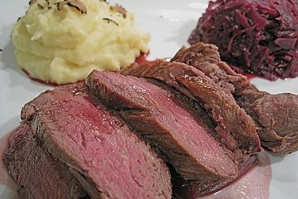 Rinderfilet auf Rotwein - Schalotten - Butter 5