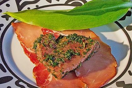 Bacon-Lamm mit Bärlauchrisotto 16