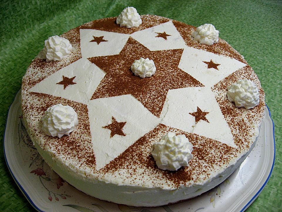 Kuchen und torten zur weihnachtszeit