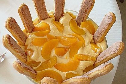 Pfirsich - Mascarpone - Dessert 2