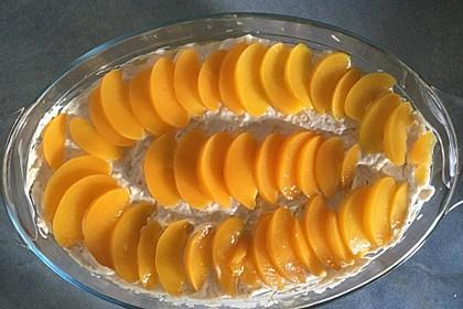 Pfirsich - Mascarpone - Dessert