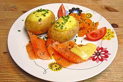 Baked Potatoes mit Lachs 1