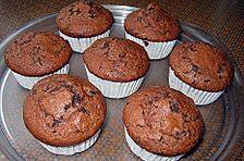 Beschwibste Cranberry - Schoko - Muffins