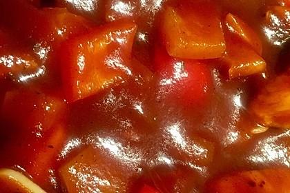 Hähnchenbrust in Tomaten - Honig - Chili - Soße 23
