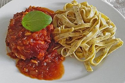 Hähnchenbrust in Tomaten - Honig - Chili - Soße