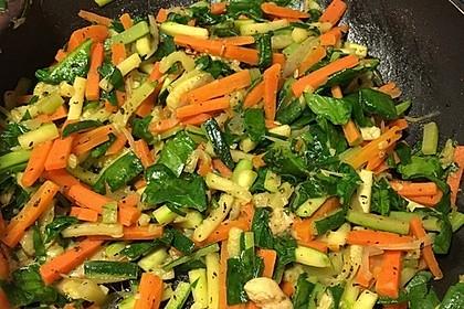 Gemüse-Quiche 22