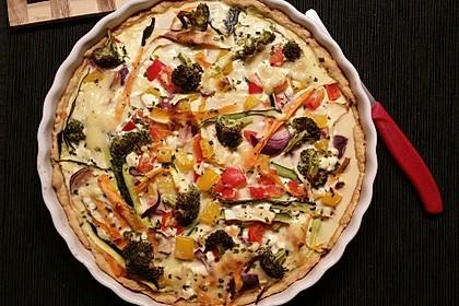 Gemüse-Quiche 38