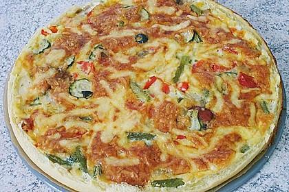 Gemüse - Quiche 32