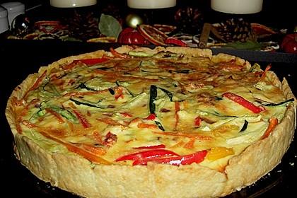 Gemüse - Quiche 13