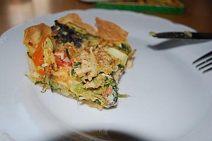 Gemüse - Quiche 14
