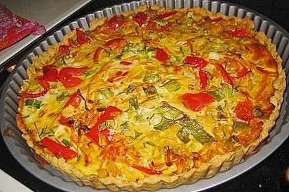 Gemüse - Quiche 2