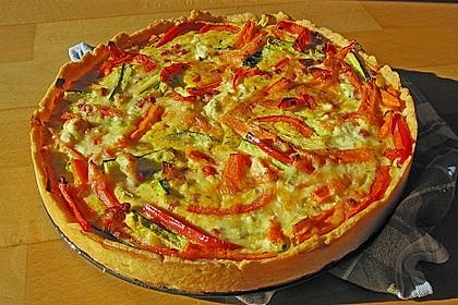 Gemüse - Quiche 0