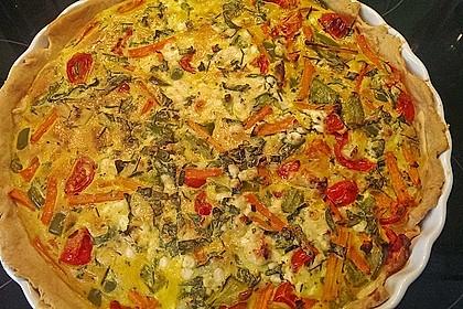 Gemüse - Quiche 8