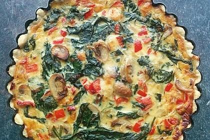 Gemüse - Quiche 7