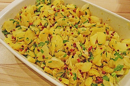 Warmer Kartoffelsalat mit Speck 7