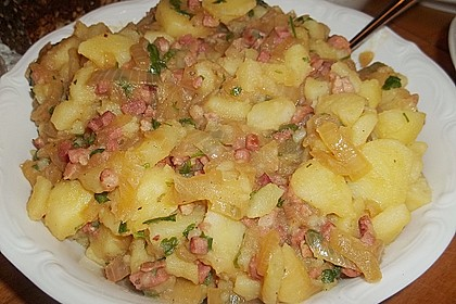 Warmer Kartoffelsalat mit Speck 5