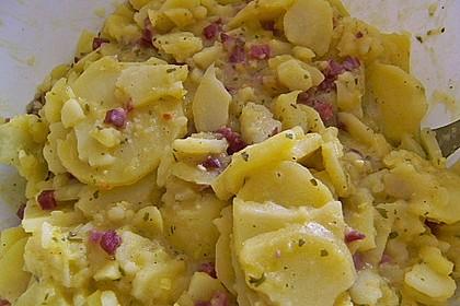Warmer Kartoffelsalat mit Speck 8
